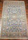 GALLERY VINTAGE OLD COLLECTIBLE 100% WOOL ESTATE WORLD RUG 3.5X5.7FT G25