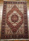 GALLERY VINTAGE OLD COLLECTIBLE 100% WOOL ESTATE WORLD RUG 3.2X4.11FT G27