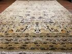 GALLERY VINTAGE OLD COLLECTIBLE 100% WOOL ESTATE WORLD RUG 3.5x4.8ft G32