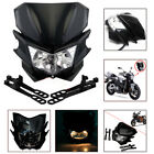 Street Fighter Dirt Bike Fairing Headlight Head Lamp For Honda Suzuki Kawasaki