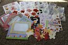 lot A Scrapbooking stickers embellishment spring butterfly flowers garden floral
