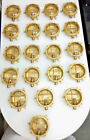 SOLID BRASS NAUTICAL MARINE SMALL SHIP DECK LIGHT LOT OF 20