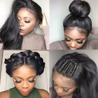 New 360 Lace Frontal Wig Glueless Per Plucked Brazilian Virgin Human Hair Full c