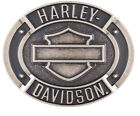 Harley Davidson Mens Bar  Shield Antique Nickel Finish Belt Buckle HDMBU11397