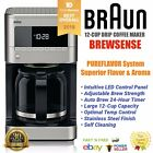 Braun BrewSense Drip Coffee Maker 12 Cup PureFlavor Stainless Steel KF7170 Award