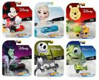 HOT WHEELS DISNEY CHARACTER CARS SET OF 6 COLLECTIBLE DIECAST CARS DHM73 999M