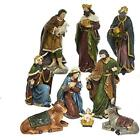 Kurt Adler Outdoor Nativity Scenes N0290 175 8 Polyester Set Of 9Piece