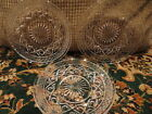 Imperial Cape Cod Clear glass Plate Saucer  (3) 5-5/8