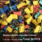 Binder Clip Mix Colored Large Medium Small Size Little Bit Scratch Paper Clips
