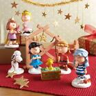 NEW Department 56 Peanuts Christmas Pageant Nativity Set of 8 Figure 802162