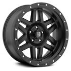 18 Inch Wheels Rims Black LIFTED Jeep Wrangler JK XD Series XD128 18x9 SET FIVE