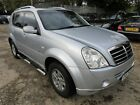 2008 SSANGYONG REXTON 270 S 5S AUTOMATIC LEATHER SAT NAV CLIMATE RADIO ETC