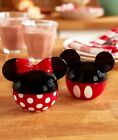 2 PC DISNEY MICKEY AND MINNIE MOUSE GIFT SALT  PEPPER SHAKER SET