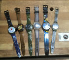 6 Swatch collectible watches