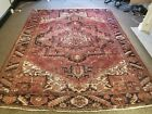 GALLERY VINTAGE COLLECTIBLE ORIENTAL 100% WOOL ESTATE FINE RUG 8.11X11.1FT H64
