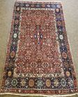 GALLERY VINTAGE COLLECTIBLE ORIENTAL 100% WOOL ESTATE FINE RUG 4X6.11FT H65