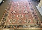 GALLERY VINTAGE COLLECTIBLE ORIENTAL 100% WOOL ESTATE FINE RUG 8.2X11.4FT H66