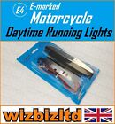 Motorcycle (E-Marked) Day Time Running Light Hyosung GF 125 Speed 2000 DRL