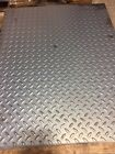 1 8 Steel Diamond Plate 12x 12 or will sheer to desired size