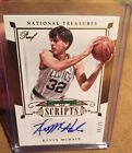 14 15 National Treasures Kevin McHale Gold Proof Scripts Auto #8 25 Celtics