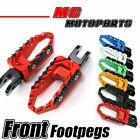 Billet Front Wide Touring Foot Pegs For Ducati Monster 600 900 Multistrada 1100