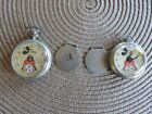 INGERSOLL MICKEY MOUSE POCKET WATCH ORIGINAL AND WITH FOB SELLING BOTH