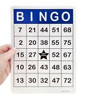 150 Large Print Jumbo Bingo Game Cards 8.25