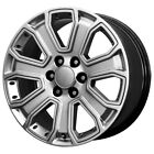4 22 Inch Replica 2015 Gmc Denali 22x9 6x1397 +31mm Silver Wheels Rims