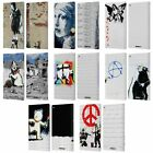 OFFICIAL BRANDALISED TEXTURED ART LEATHER BOOK WALLET CASE COVER FOR AMAZON FIRE