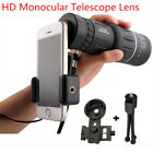 High Power 16x52 HD Monocular Telescope Dual Focus Prism Scope Night Vision