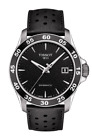 TISSOT V8 swissmatic automatic leather strap men's watch T106.407.16.051.00