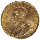 1912 Canada $5 Gold Coin - ICCS MS63 - See Photos