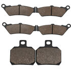 Front Rear Brake Pads For APRILIA ETV 1000 Caponord Rally (All Models) 2001-2008