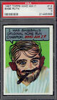 1967 Topps Who Am I? 12 Babe Ruth HOF. PSA 7 NM ( unscratched ). (TX5666LXMTT).