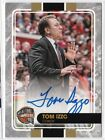 2018-19 TOM IZZO Panini Black Friday Hall of Fame Induction AUTO Autograph SSP