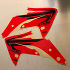 Honda CRF150R 2007-2017 Wing shroud graphics, red background FREE SHIPPING!!!