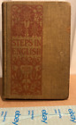 Steps in English by Morrow McLean and Blaisdell Book Two 1911 Antique