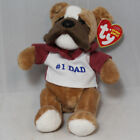 Ty Beanie Baby Dad 2007 - MWMT (Fathers Day Bulldog) Exclusive