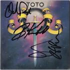 TOTO 1st Album 1978 BOBBY KIMBALL Steve Lukather DAVID PAICH +1 Autograph SIGNED