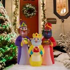 Three Kings Nativity Christmas Scene Decoration Inflatable Yard Lawn Decor 55Ft