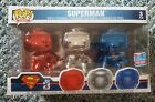 Funko Pop! 3 Pack Superman Fall Convention Exclusive