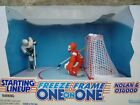 1997 Starting Lineup Freeze Frame One on One Owen Nolan vs. Chris Osgood  #71334
