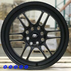MST Suzuka 16x7 +25 Flat Black Rims Wheels 4x1143 02 06 Scion xB xA Toyota Echo