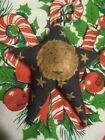 Primitive Christmas Star Ornament with Man on the Moon
