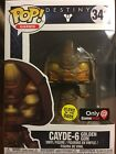 Funko POP! GAMES: DESTINY: CAYDE-6 #341 (GOLDEN GUN) GITD GAME STOP EXCLUSIVE