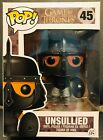 Funko Pop! Game Of Thrones Unsullied #45 Vaulted W POP PROTECTOR GoT