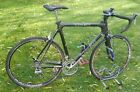 Trek OCLV carbon road bike 60cm frame Shimano 16 speed STI gears Fulcrum 700c