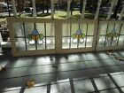M-243 Lovely Older Leaded Stained Glass Window From England 3 Available