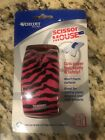New in Pack Westcott Scissor Mouse Pink Zebra Craft Straight Wave Christmas