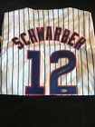 KYLE SCHWARBER AUTOGRAPHED SIGNED CHICAGO CUBS JERSEY BECKETT WITNESSED COA